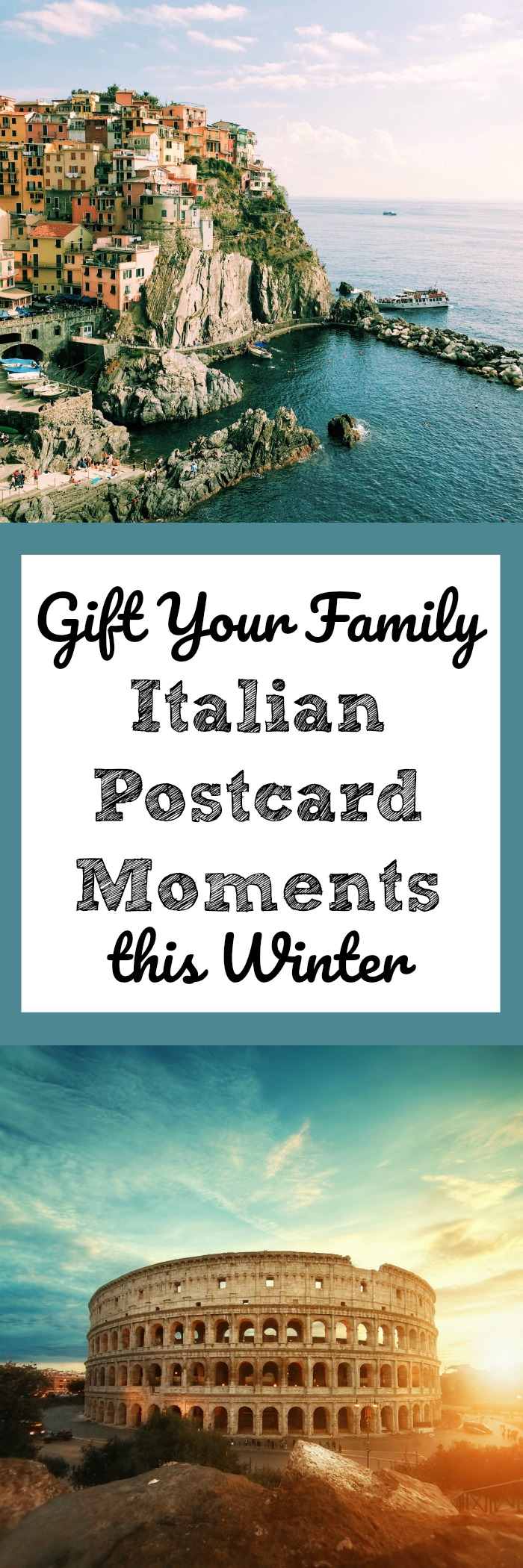 Gift Your Family Italian Postcard Moments this Winter
