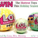 L.O.L. Surprise! Pets, Lil Sisters, & Charm Fizz Prize Pack Giveaway