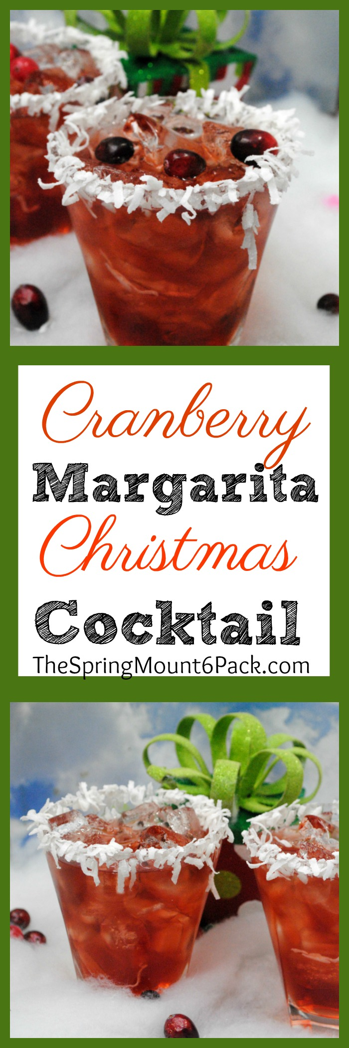 Looking for a Christmas cocktail? Or a great cocktail for Thanksgiving? This specialty Christmas drink will be a nice treat for your next Christmas get together.