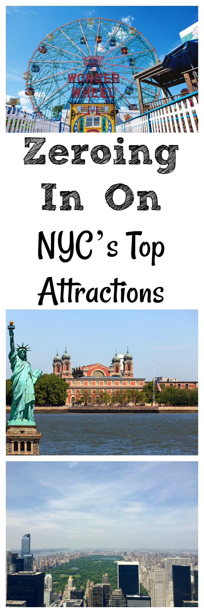 Must see things in New York City? Zeroing In On NYC's Top Attractions for your next trip to New York City.
