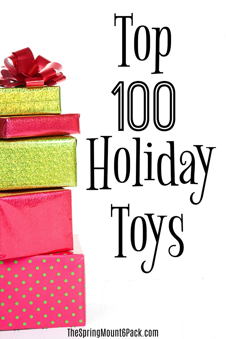 Looking for the hot toys for this season? Here is a list of the top 100 holiday toys this holiday season. Get the toys want this year.