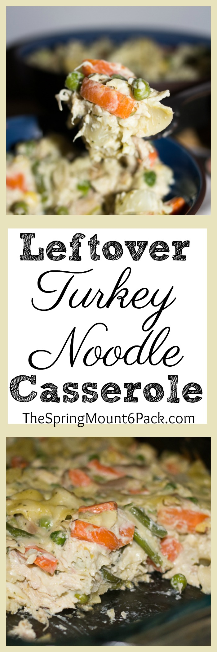 Turkey for Thanksgiving and Christmas is great. You get a lot of meat for the price. Try this leftover turkey noodle casserole to make leftovers delicious.