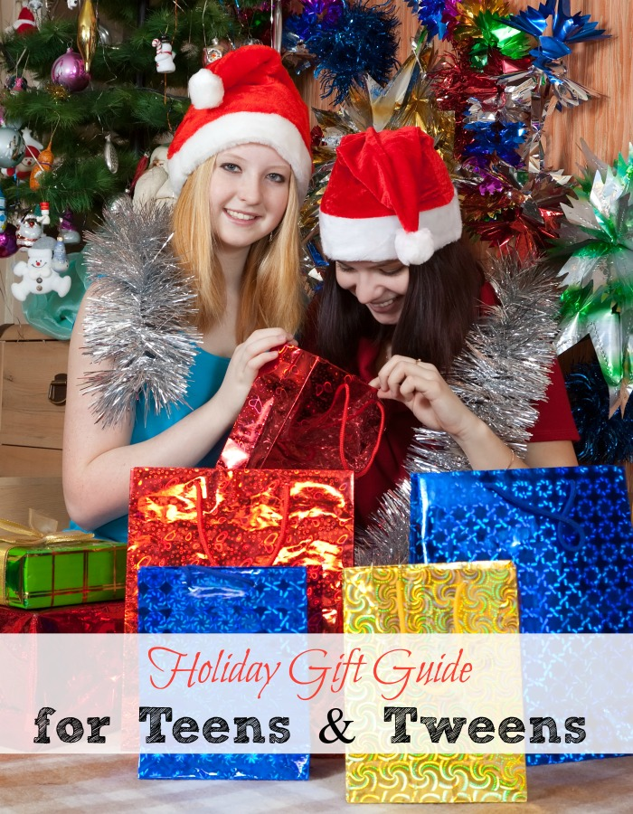 Holiday Gift Guide for Teens and Tweens