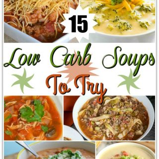 Look for low carb soup recipes? Here are 15 low carb soup recipes that will be perfect for a comfort food craving but not mess up your weight loss.