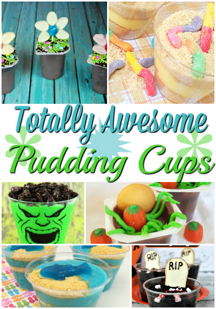 Looking for a fun pudding cup idea? Kids will love getting these pudding cup crafts. They are great for party favors or party treats at school.