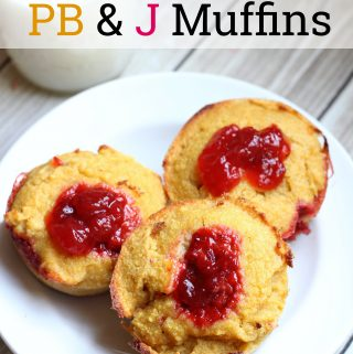 Looking for a low carb muffin recipe that the kids will love? These PB&J Muffins are so good that they can be eaten for breakfast or as a treat.
