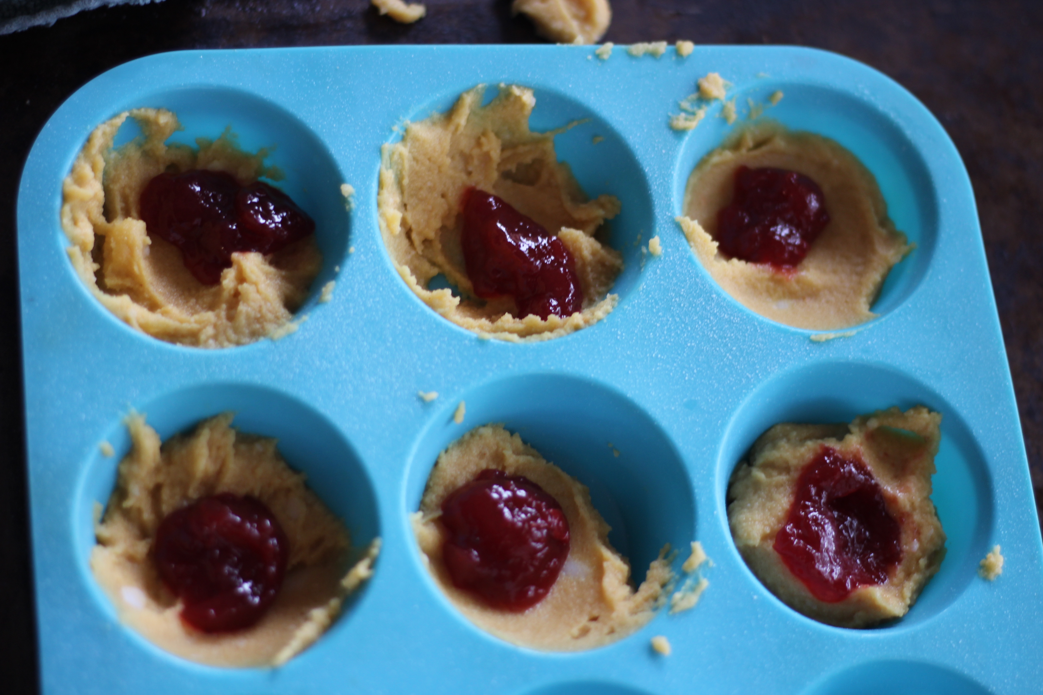 Looking for a low carb muffin recipe that the kids will love? These keto approved PB&J Muffins are so good that they can be eaten for breakfast or as a treat.