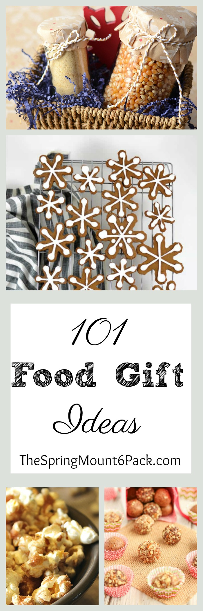 Looking for food gift ideas? Here are 101 food gift ideas that will make anyone on your Christmas list happy this holiday season.