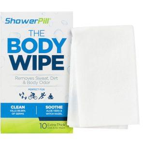 The Body Wipe Shower pill