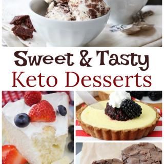 Sweet and Tasty Keto Desserts