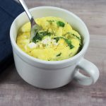 Spinach and Feta Omelette in a Mug