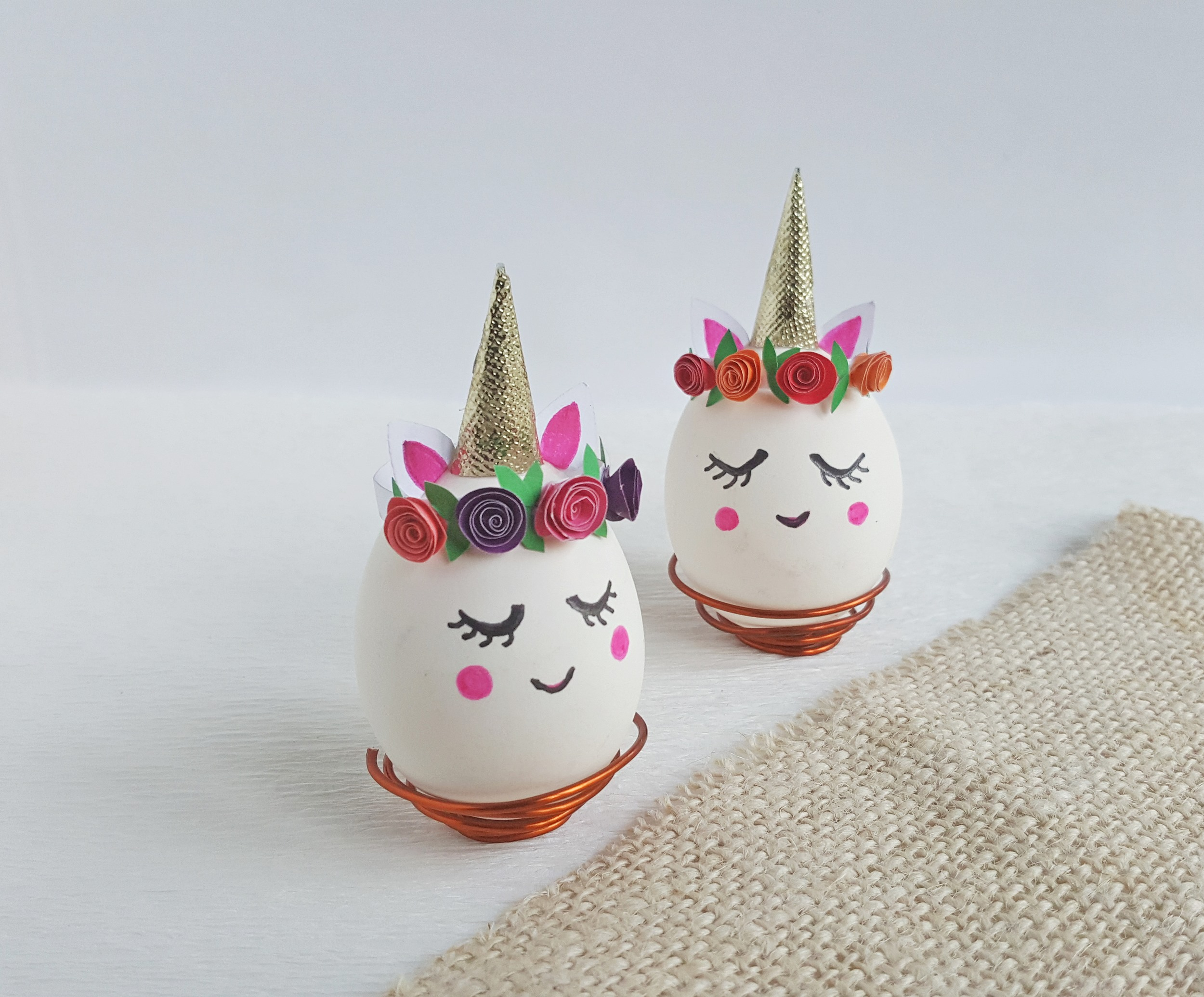 Creating a Unicorn Easter egg craft, Step (8)