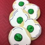 Dr. Seuss Birthday Green Eggs Cookies