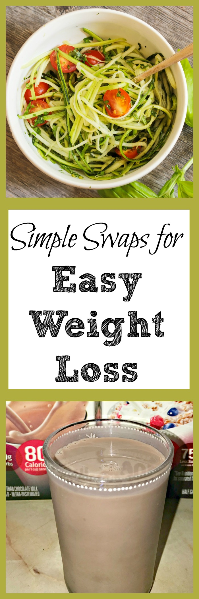 Looking for a way to get easy weight loss but don't have time to worry about calories? Try these easy weight loss swaps and tips.