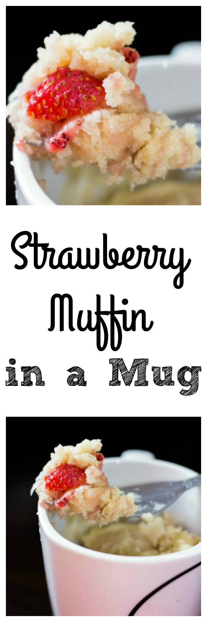 Love strawberry muffins? Try this strawberry muffin in a mug. It only takes a few ingredients and taste so good. It is also vegan friendly.