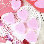 Rose Vanilla Exfoliating Sugar Scrub Soap Cubes