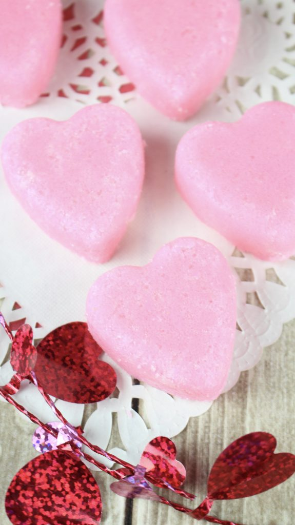 Make Rose Vanilla Exfoliating Sugar Scrub Soap Cubes