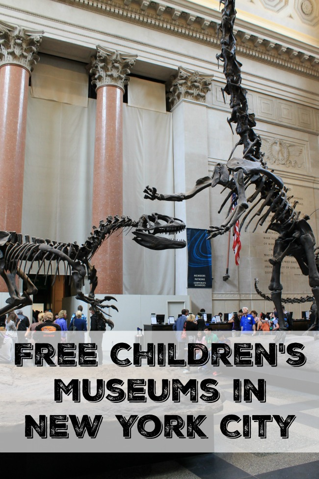 Taking the kids to the museum is a great way to spend time on a trip. But the money isn't always in the budget. Free Children's Museums in New York City