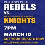 Philadelphia Rebels Play the WBS Knights