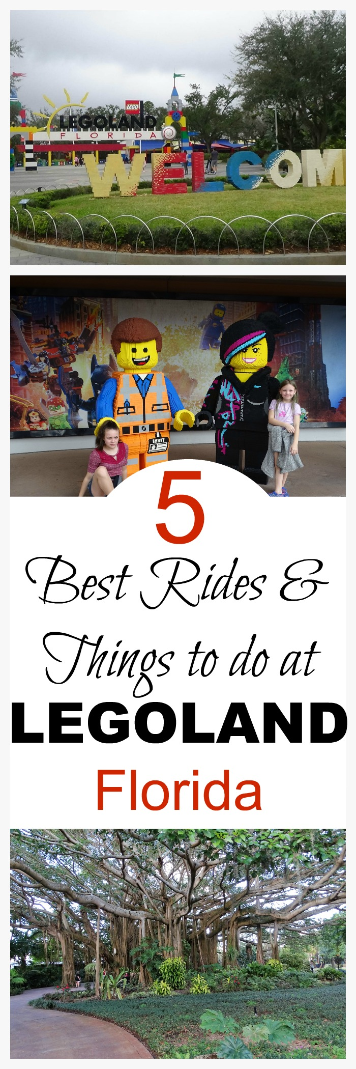 Visiting Orlando? Looking for things to do besides Disney? LEGOLAND Florida is a great place to spend the day. Here are 5 of the best things to do in LEGOLAND Florida.