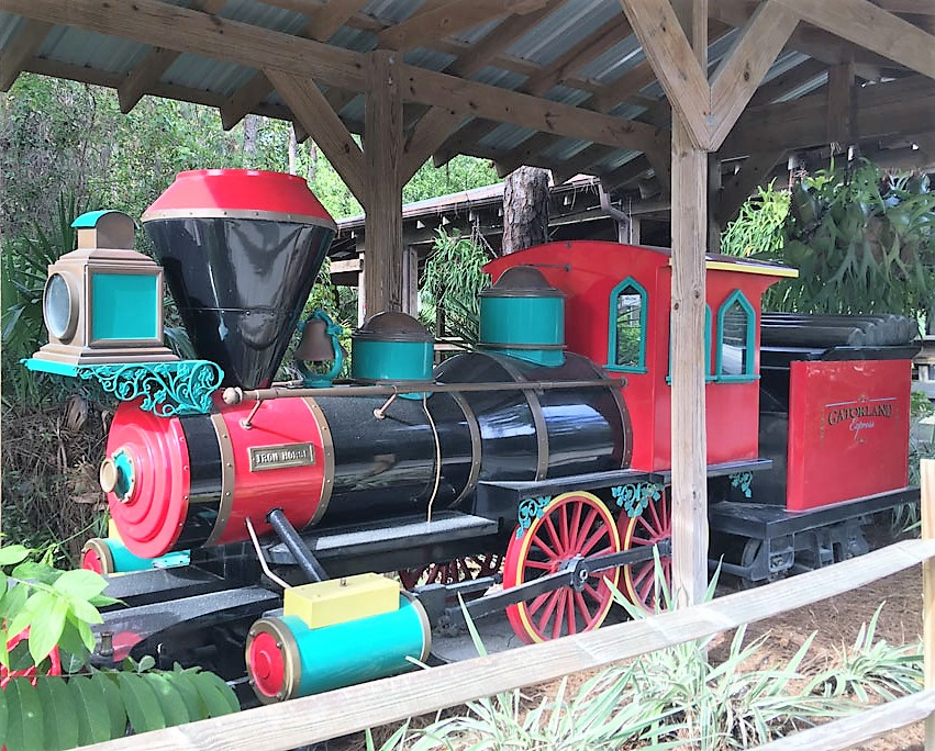 train at Gatorland