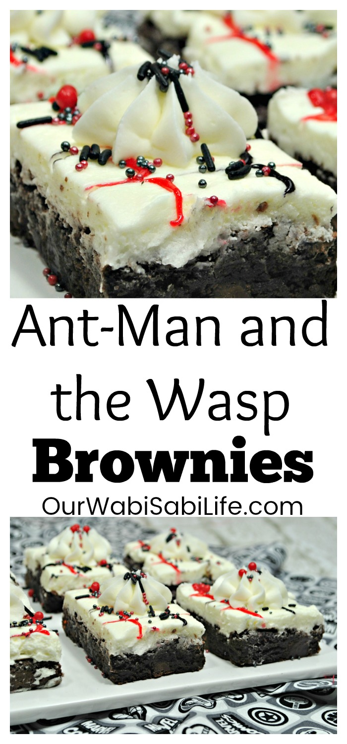 Excited for Ant-Man and the Wasp? These simple Antman brownies are going to make a delicious treat to help celebrate Ant-Man and the Wasp coming to theaters this summer.