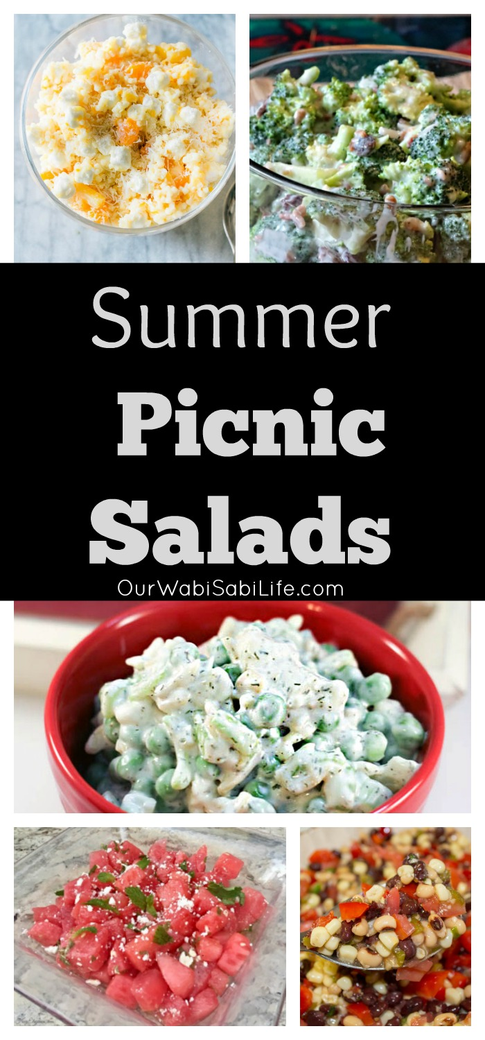 Looking for a great tasting summer salad? These summer picnic salads are going to be a hit for every occasion. Find great tasting summer salads/picnic salads for your next picnic.