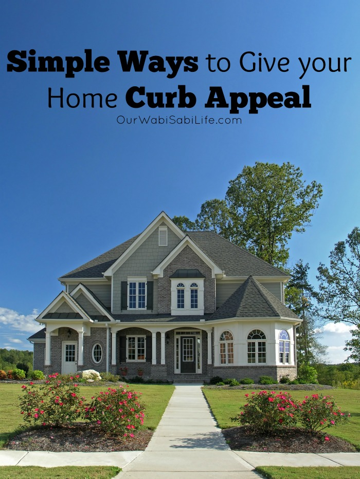 Looking for a way to add curb appeal to your home? Here are Simple Ways to Give your Home Curb Appeal. Simple ways to make your house look beautiful
