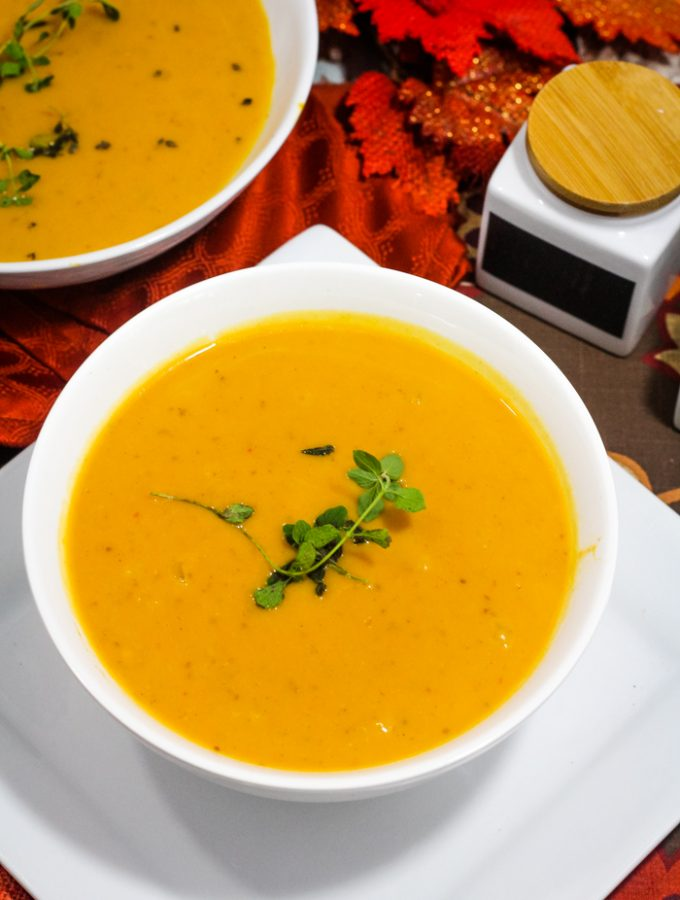 Love that great tasting soup from Panera, but want to make enough to feed your whole family Try this copycat panera autumn soup. So good on a chilly night