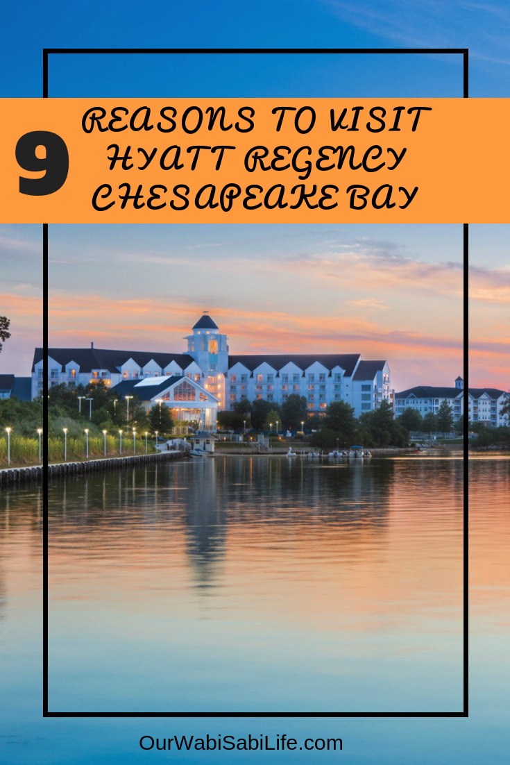 9 Reasons to Visit Hyatt Regency Chesapeake Bay. Visiting Maryland near the Chesapeake Bay and you're looking for a great place to stay? The Hyatt Regency is on the Choptank River in scenic Eastern Shore of Maryland. This is the best luxury hotel to choose.