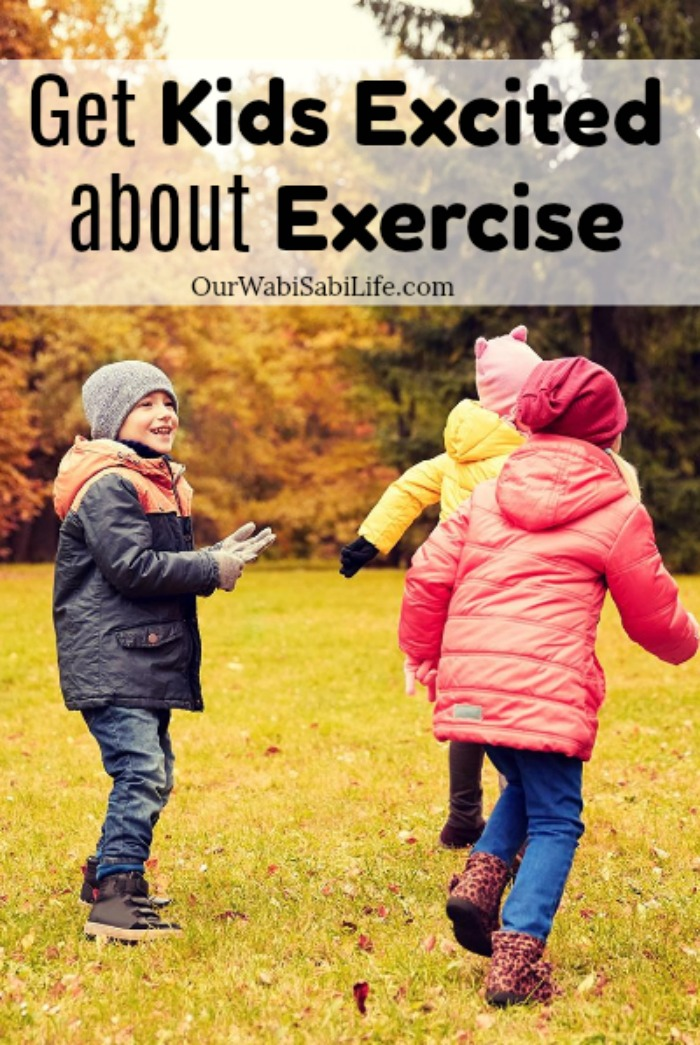 Now more than ever kids need to get active. Help kids ditch the screen time and help get kids excited about exercise. Try these simple ways to get off the couch and find out why it is so important.