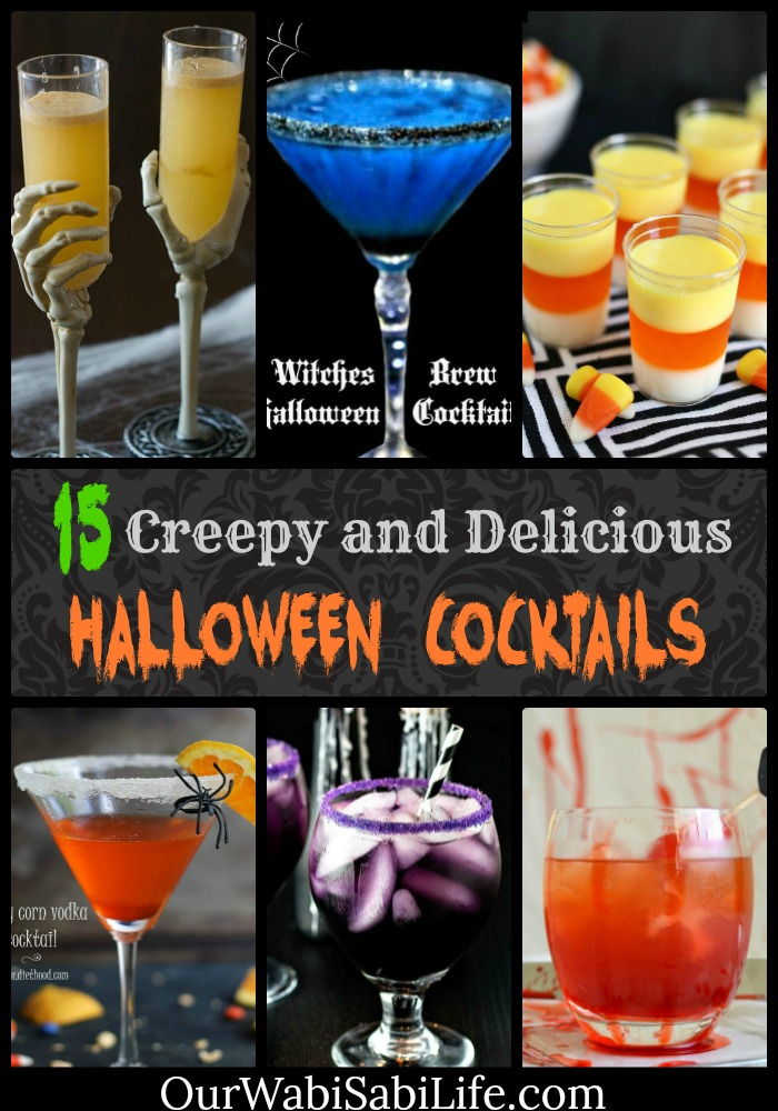 Halloween cocktails can bring any adult Halloween party to a new level. These Halloween drink recipes are the perfect combinations of delicious and creepy.