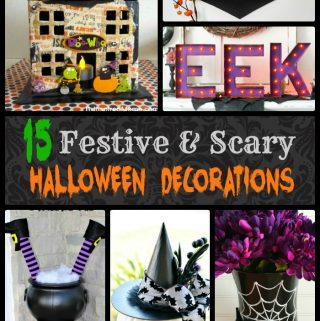 Looking for festive and scary Halloween decorations? With a combination of simple DIY Halloween decorations and a few that can be purchased, any Halloween fan will love this list.