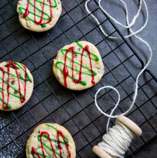 Soft and Chewy Sugar Cookies with Andes Candy