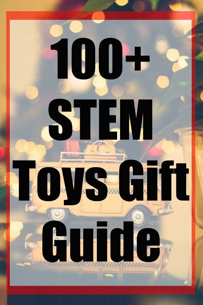 Looking for STEM Toy Ideas? These STEM toys are perfect for any gift giving time. STEM toys are great to encourage children's love of learning in Science, Technology, Engineering, and Math. #stem #Toys