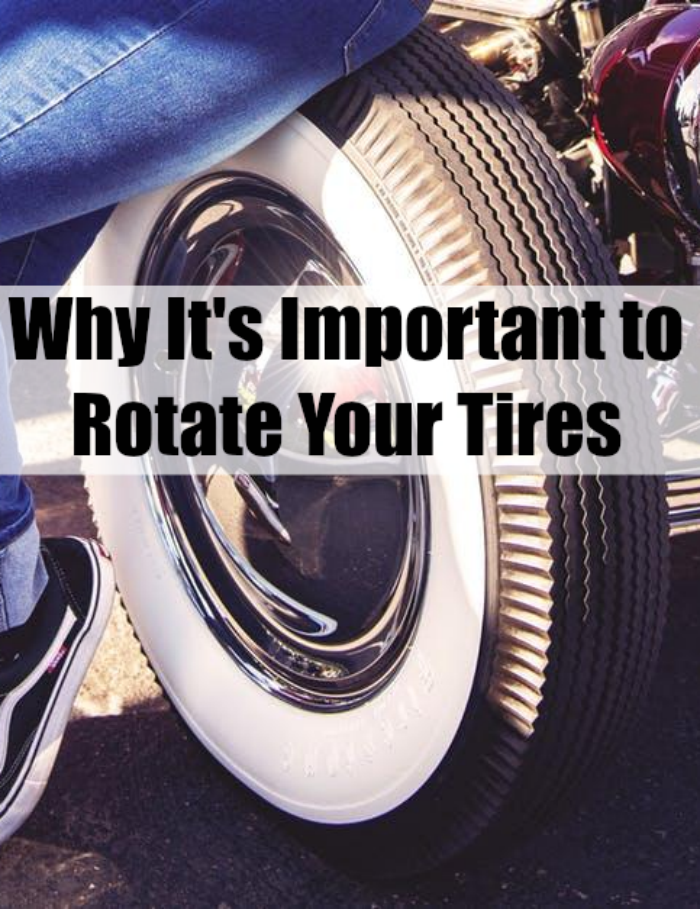 Why It's Important to Rotate Your Tires