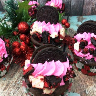 Peppermint Oreo Cupcake Recipe