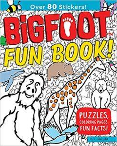 Bigfoot Fun Book