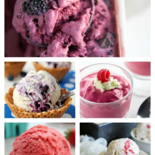 Ice cream is such a great dessert. It is sweet and tasty and most people love it. Berry ice cream is a great choice since it isn't that sweet and it isn't as rich. These recipes are perfect for anyone who want to make your own ice cream.