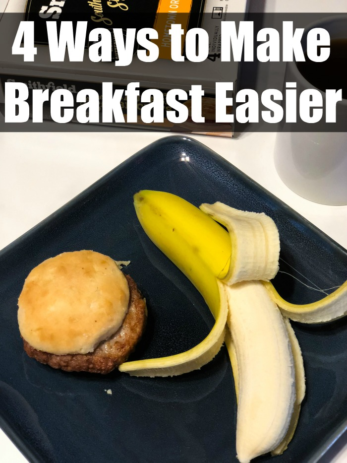 Looking for a way to eat a delicious breakfast when you are short on time? Use these simple steps to make breakfast easier.