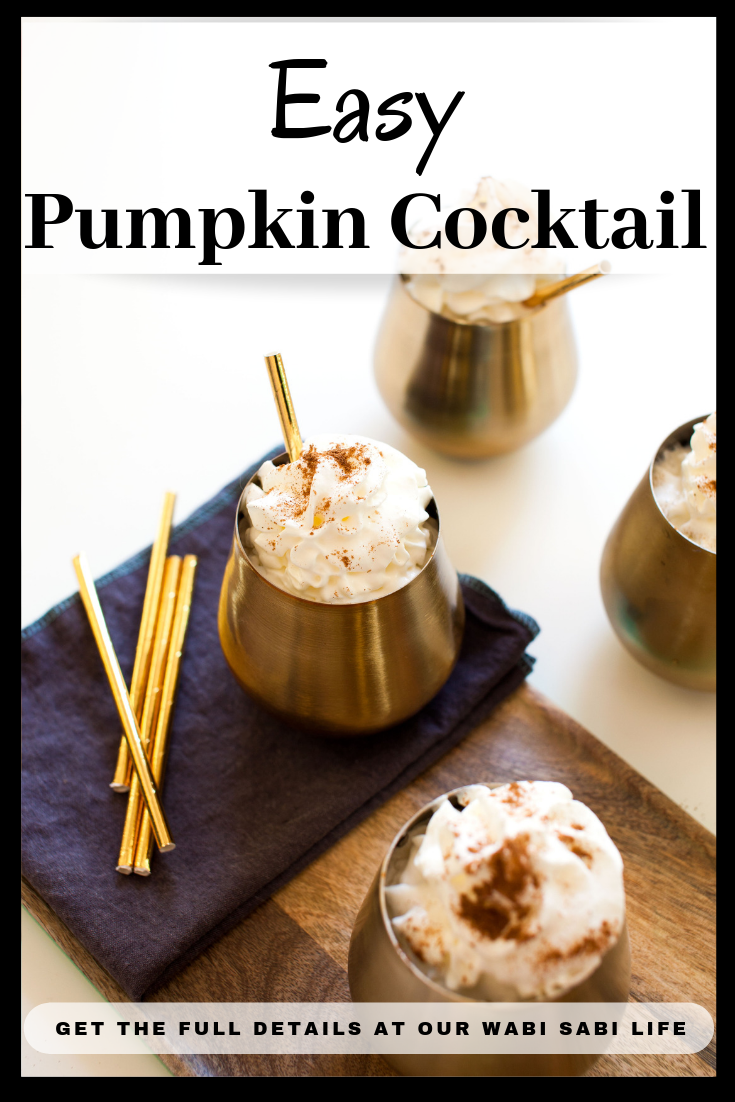 easy pumpkin cocktail