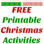Christmas Word Search and Christmas Word Scramble – FREE!!!