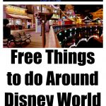Free Things to do Around Disney World
