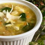 White Bean and Turkey Soup | Leftover Turkey Soup