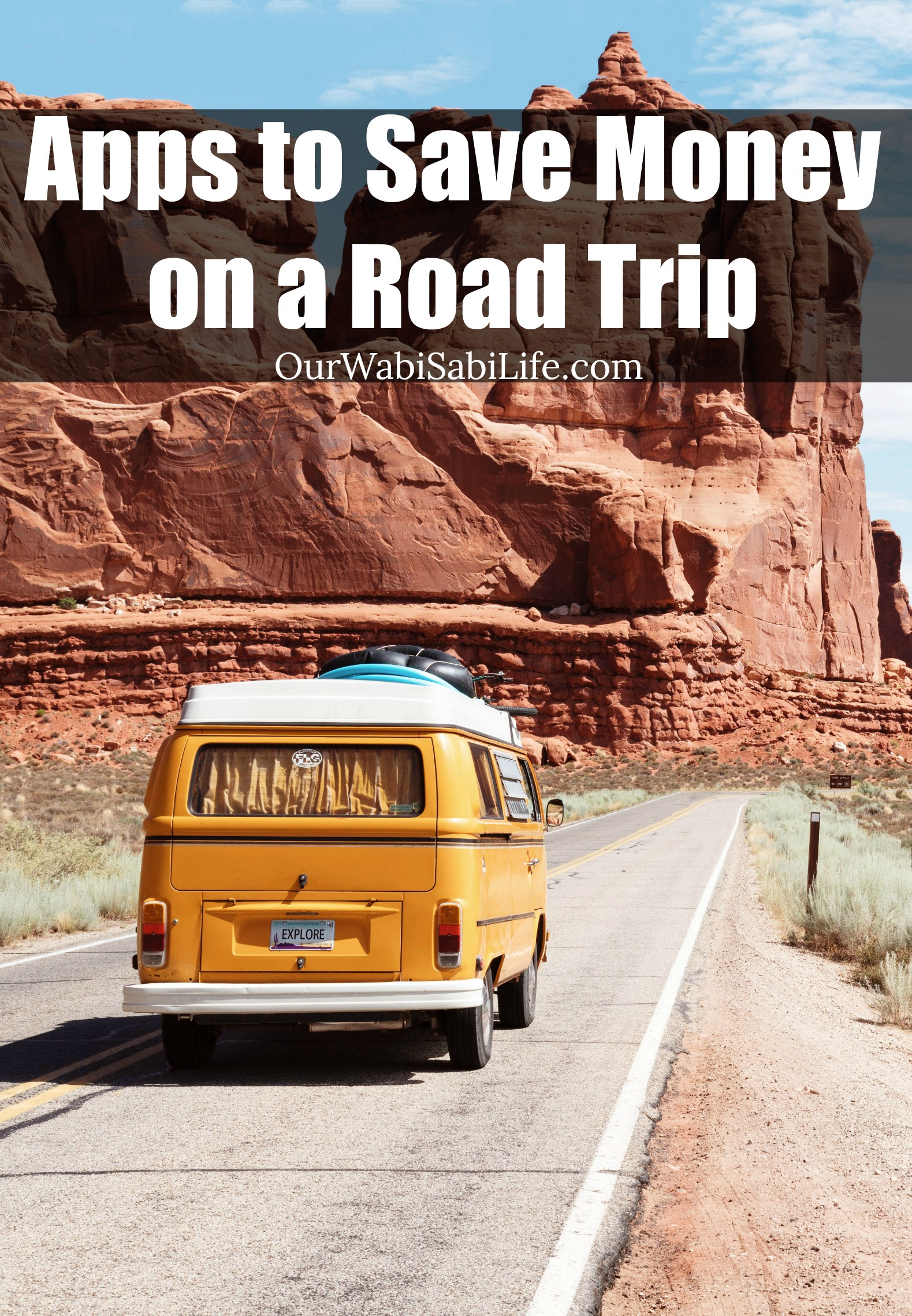 Looking for ways to save money on a road trip? Use these apps to save money on gas and other ways to save money on a road trip.