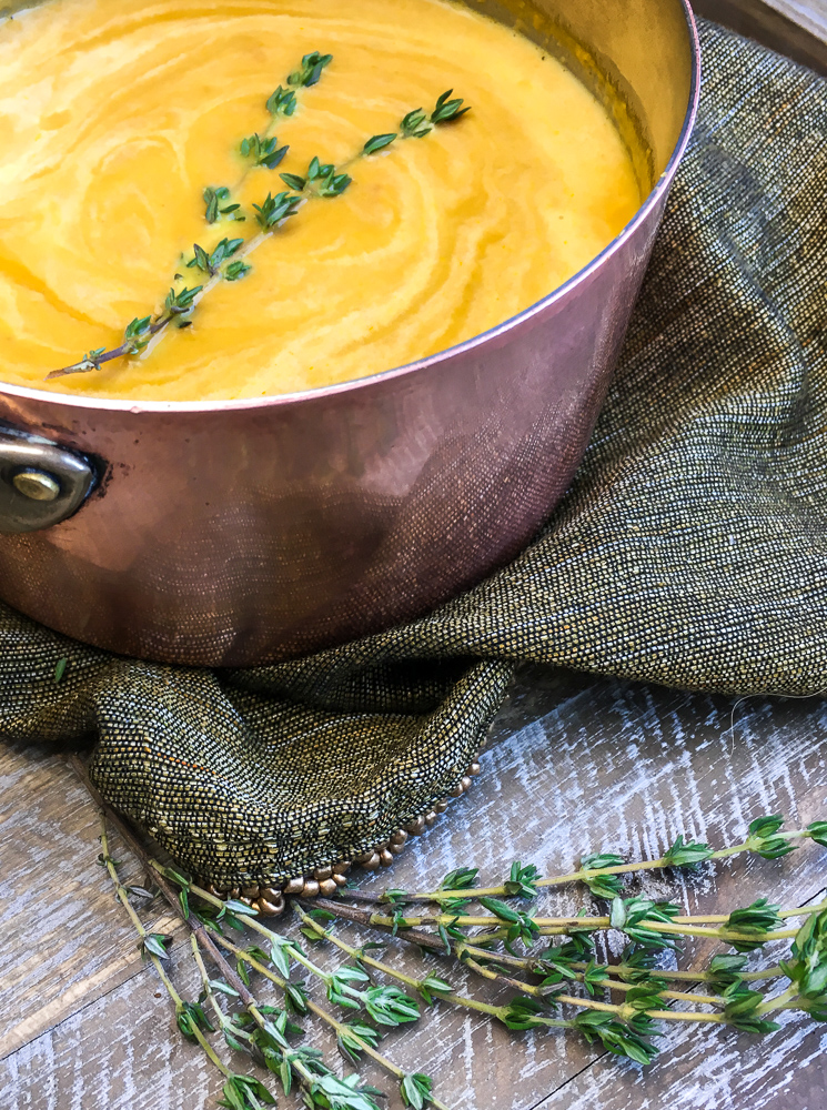 There is more to soup than chicken noodle or tomato. This delicious carrot soup will be delicious any time of the year. Carrot and ginger soup is easy to make and has a fantastic taste.