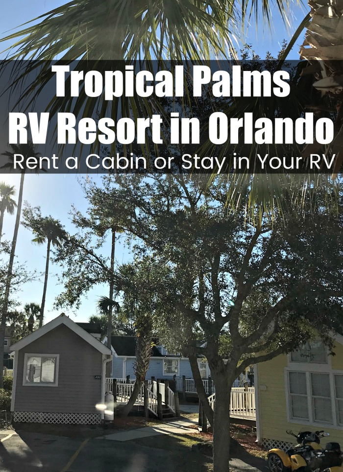 Visiting Orlando and want a family friendly place to stay? Whether you are staying in your RV or renting a cabin, Tropical Palms is an excellent choice.