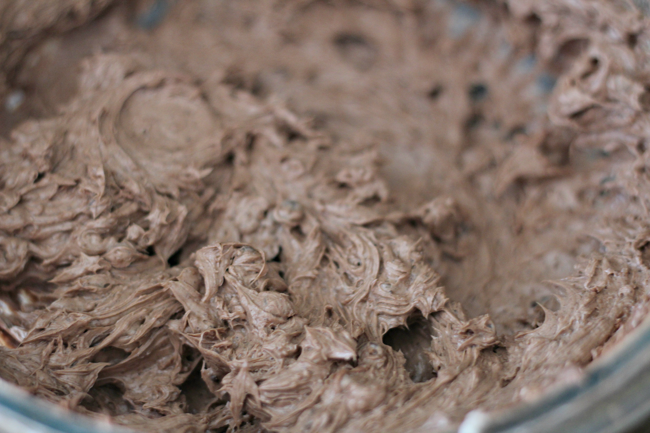triple chocolate cheesecake fat bomb mixture