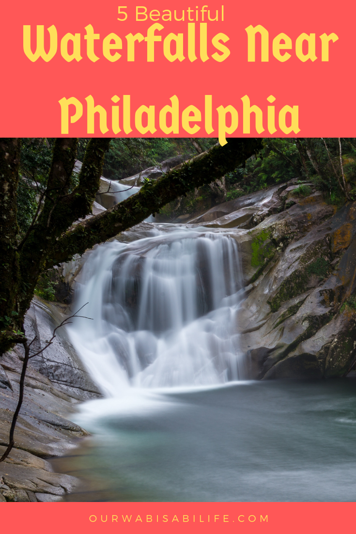 beautiful waterfalls near Philadelphia