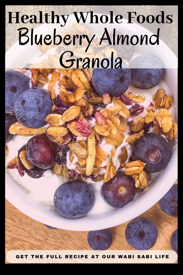 Looking for a healthy breakfast idea that tastes good too? This Blueberry Almond Granola recipe has no refined sugar and full of healthy ingredients that will leave you energized and feeling great. Make your own granola and taste the difference.